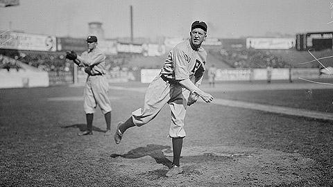 Grover Cleveland Alexander played for Class D Galesburg in 1909.