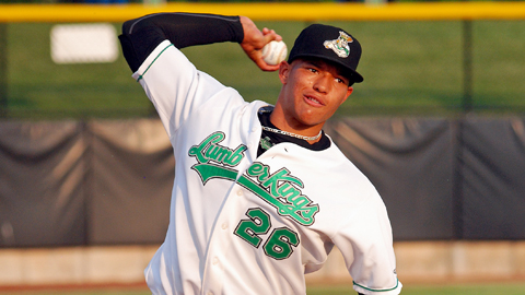 Taijuan Walker has 90 strikeouts over 71 Midwest League innings.