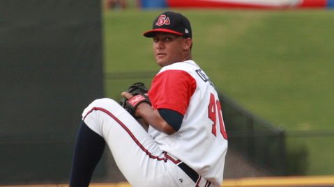 Randall Delgado went 5-5 with a 3.84 ERA in 21 Double-A starts.