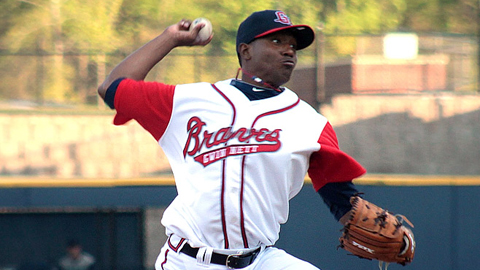 Julio Teheran went 15-3 with a 2.55 ERA over 25 appearances.