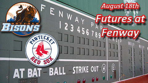 The Bisons will be in Boston to take on the PawSox on August 18.