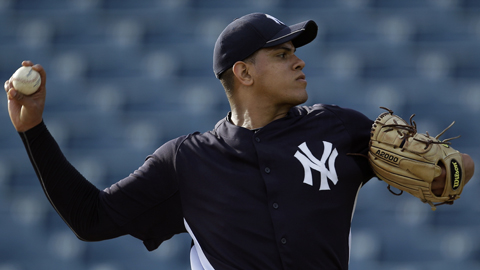Dellin Betances went 4-9 with a 3.70 ERA across two levels in 2011.