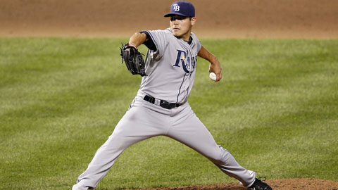 Matt Moore allowed one run in two ALDS appearances for the Rays in 2011.