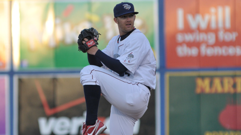 Tyler Cloyd started for the IronPigs after Dave Bush was suspended.