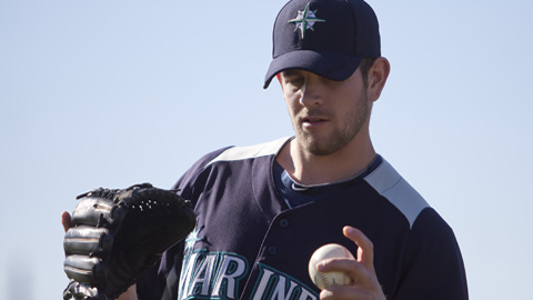 James Paxton pitched a hitless inning at last year's All-Star Futures Game.