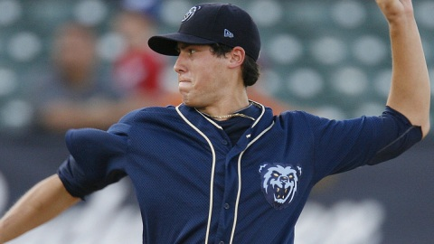 Tyler Skaggs was 4-1 with a 2.50 ERA for Mobile in 2011.
