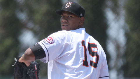 J.C. Sulbaran has 10 strikeouts and five walks in 11 innings to start the season.