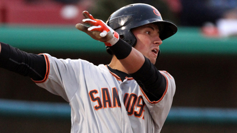 Joe Panik was the 29th overall pick in the 2011 Draft.