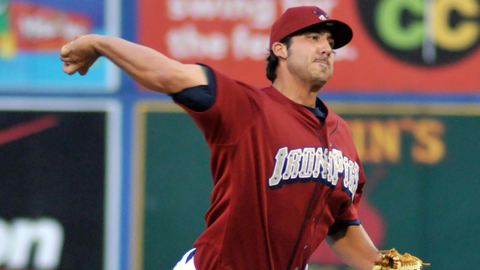 Phillippe Aumont made 29 starts in the Minors before shifting to the 'pen.