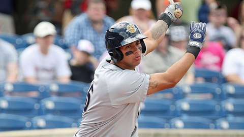 Gary Sanchez is in his third pro season and second with Charleston.