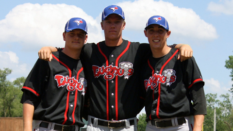 Nicolino (left), Syndergaard (center) and Sanchez highlight Toronto's system.