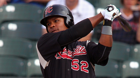 Michael Taylor has four homers and 12 RBIs during a 10-game hitting streak.