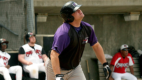 Winston-Salem first baseman Dan Black owns an .888 OPS this season.